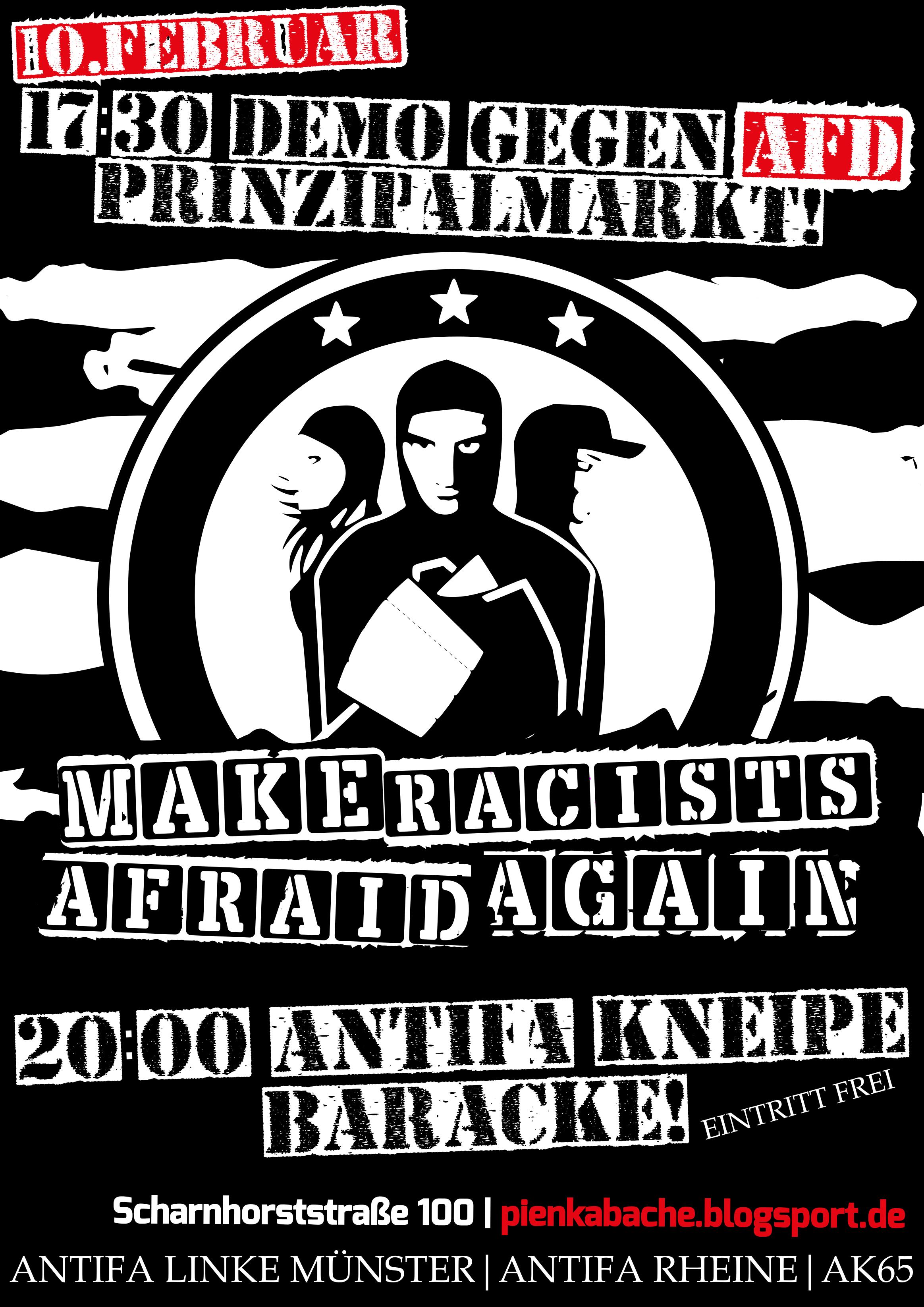 Pien Kabache die Antifa Kneipe in der Baracke
